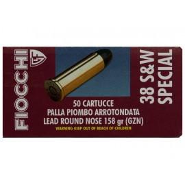 Fiocchi .38 Special/158 LRN 50 stuks
