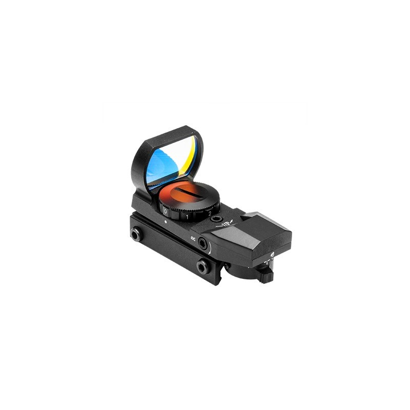 Nc Star D4B Red Four Reticle Reflex Optic BLACK