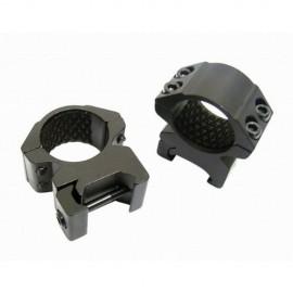 "Hawke HM7102 1""/25mm Medium Weaver Match Rings"
