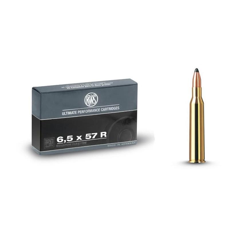 RWS 6,5X57R 127gr Kegelspitz 20 stuks