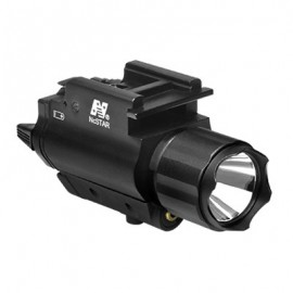 NcStar 200 L Flashlight Red Laser QR Mount