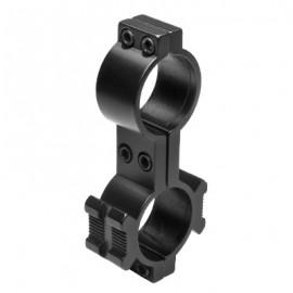 "Nc Star RMB18 30mm X 1.0""H Tri-Rail Ring - Black"