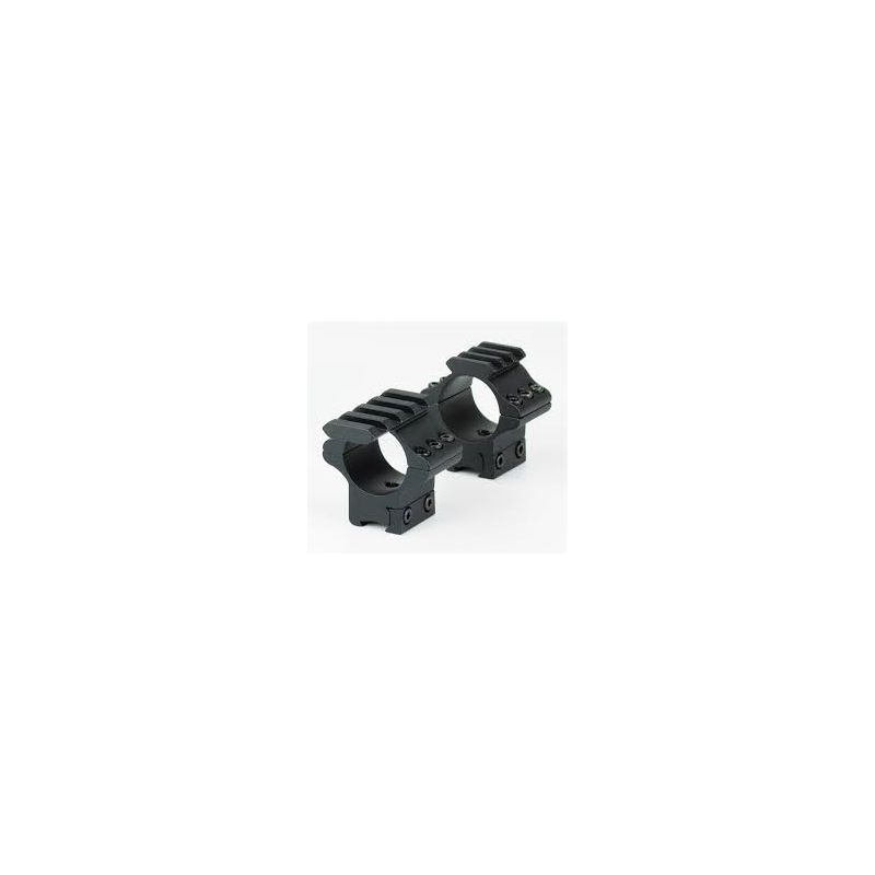 Hawke Tactical Match Mounts 30mm 2 Piece Weaver