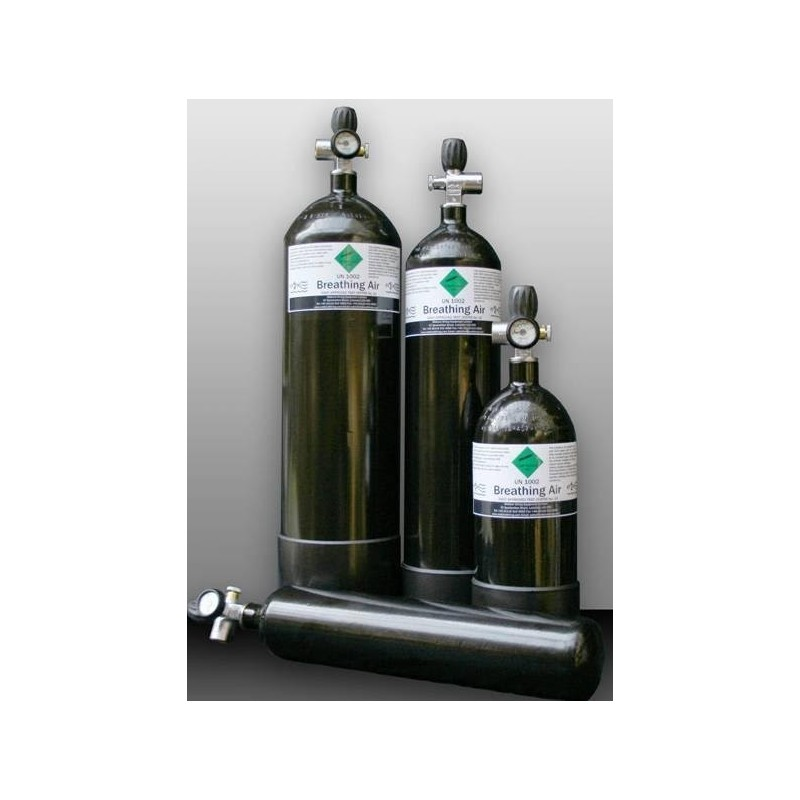 Mde Airbottle 12l 300bar With Fill Set