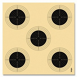 Air rifle target 1305 10m 250 pcs.