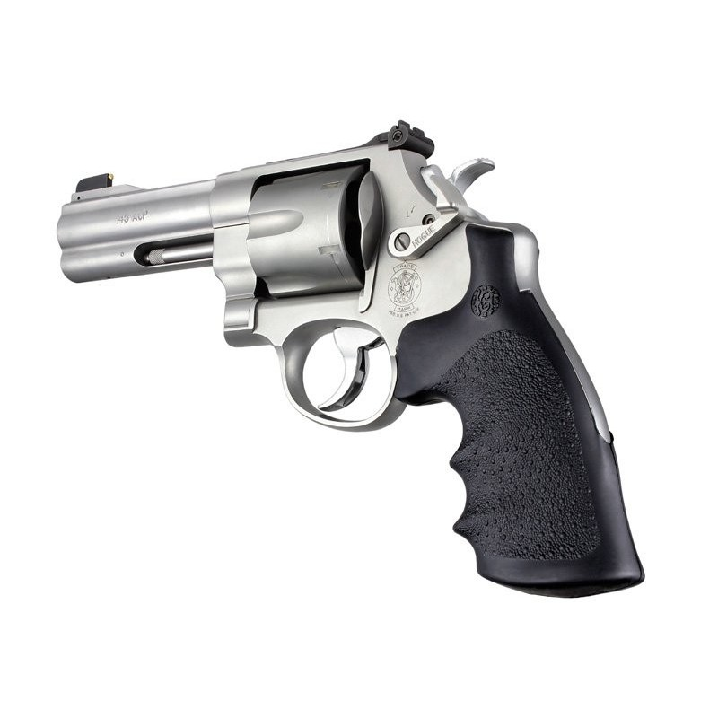 Hogue S&W N Round Butt Conversion Style Rubber Monogrip