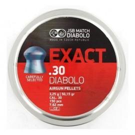 JSB Diabolo Exact .30 150 stuks