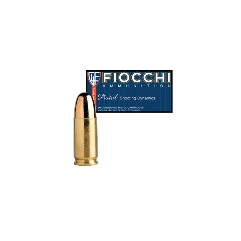 Fiocchi 9mm/115 FMJ 50 stuks