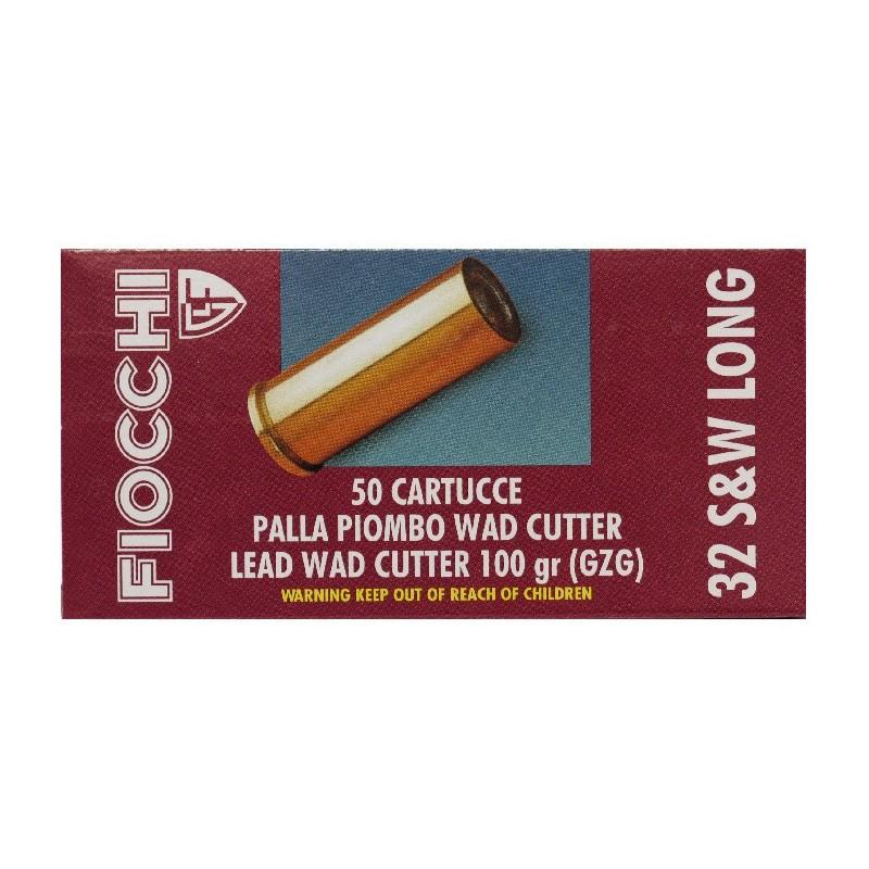 Fiocchi .32 S&W long/100 WC 50 stuks