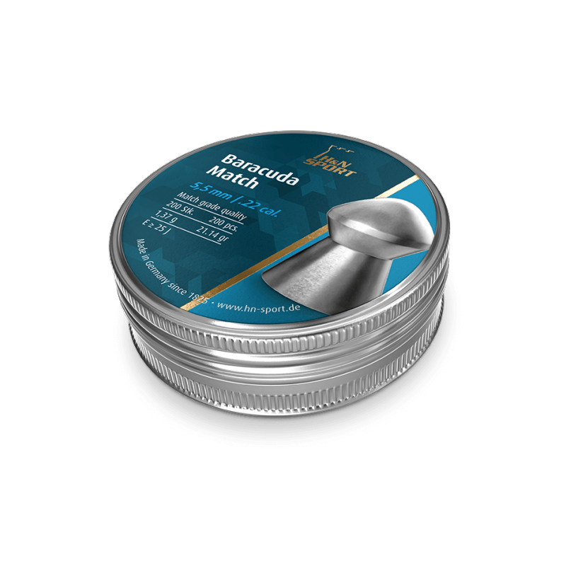 H&N Baracuda Match 5,5mm 200 stuks