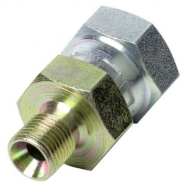 "Best Fittings 1/4"" BSP Female Swivel - 1/8"" BSP Male"