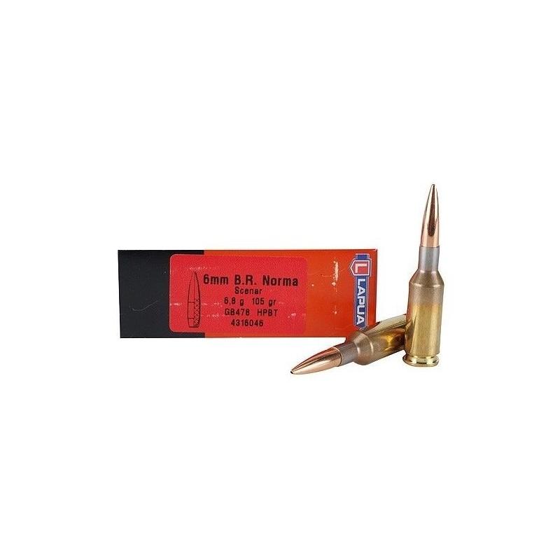 Lapua 6mm BR Norma/105 HPBT