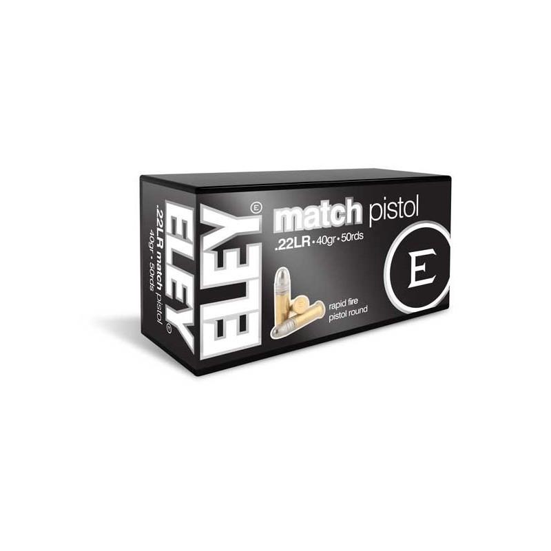 Eley Match Pistol 50 stuks