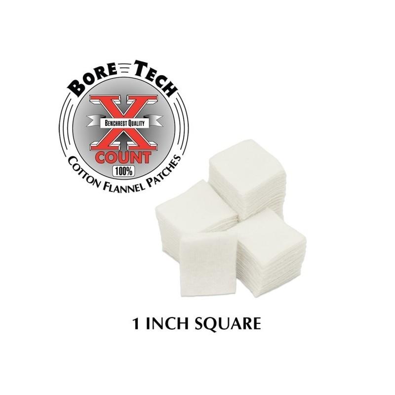 """Bore Tech Poetsdoekjes 1"""" Square 500 stuks"""