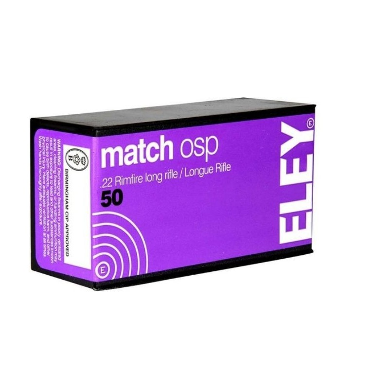 Eley Match OSP 50 stuks