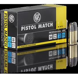 RWS Pistol Match 100 stuks