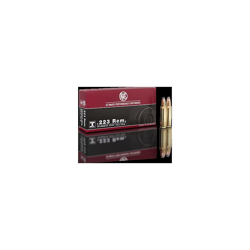 RWS .223 55gr TMS 20 pcs