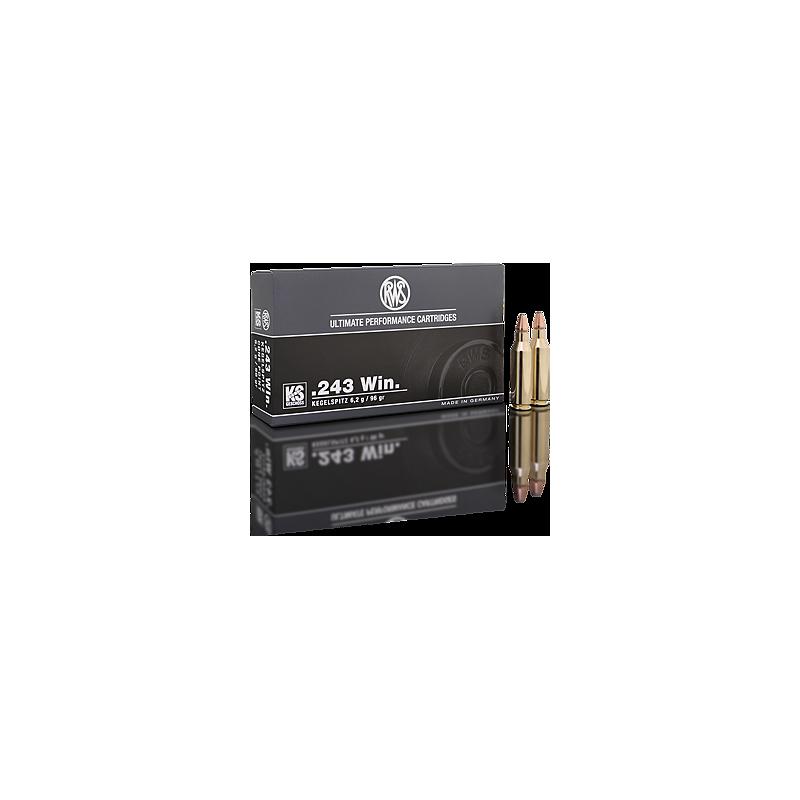 RWS .243 96gr kegelspitz