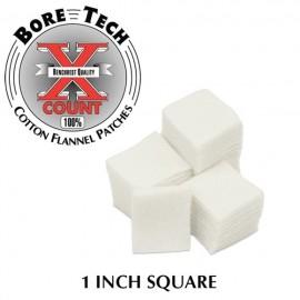 "Bore Tech Poetsdoekjes 1"" Square 500 pcs"
