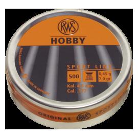 RWS Hobby 4,5mm 500 stuks