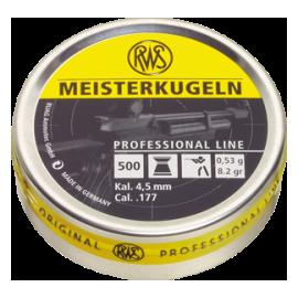 RWS Meisterkugeln 4,5mm 500 stuks