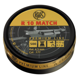 RWS R 10 Match 4,5mm 500 stuks