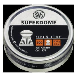 RWS Super Dome 4,5mm 500 stuks