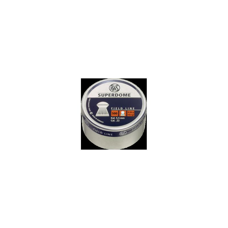 RWS Super Dome 5,5mm 500 stuks